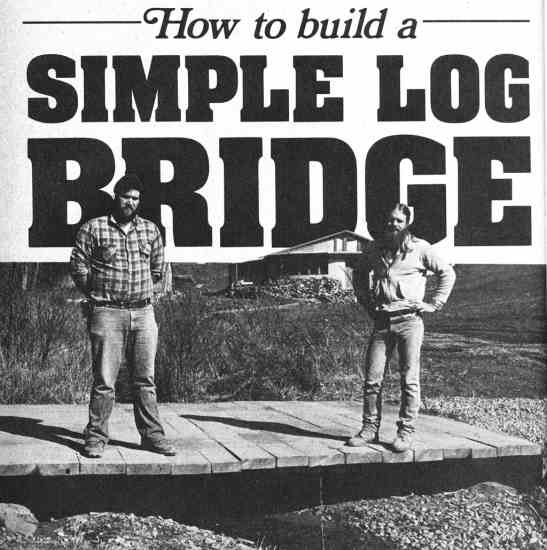 How to Build a Bridge Final Product