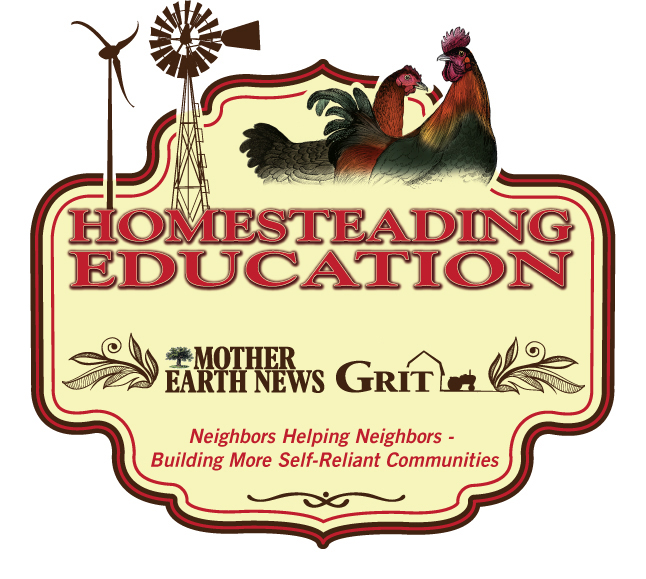 Homesteading Education Logo